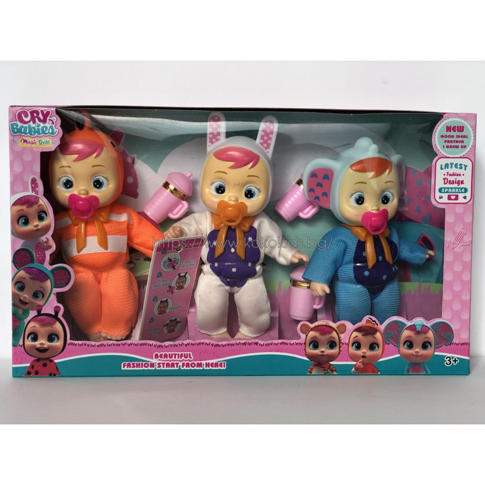 Плачещи кукли CRY BABIES Magic Tears - Имитация