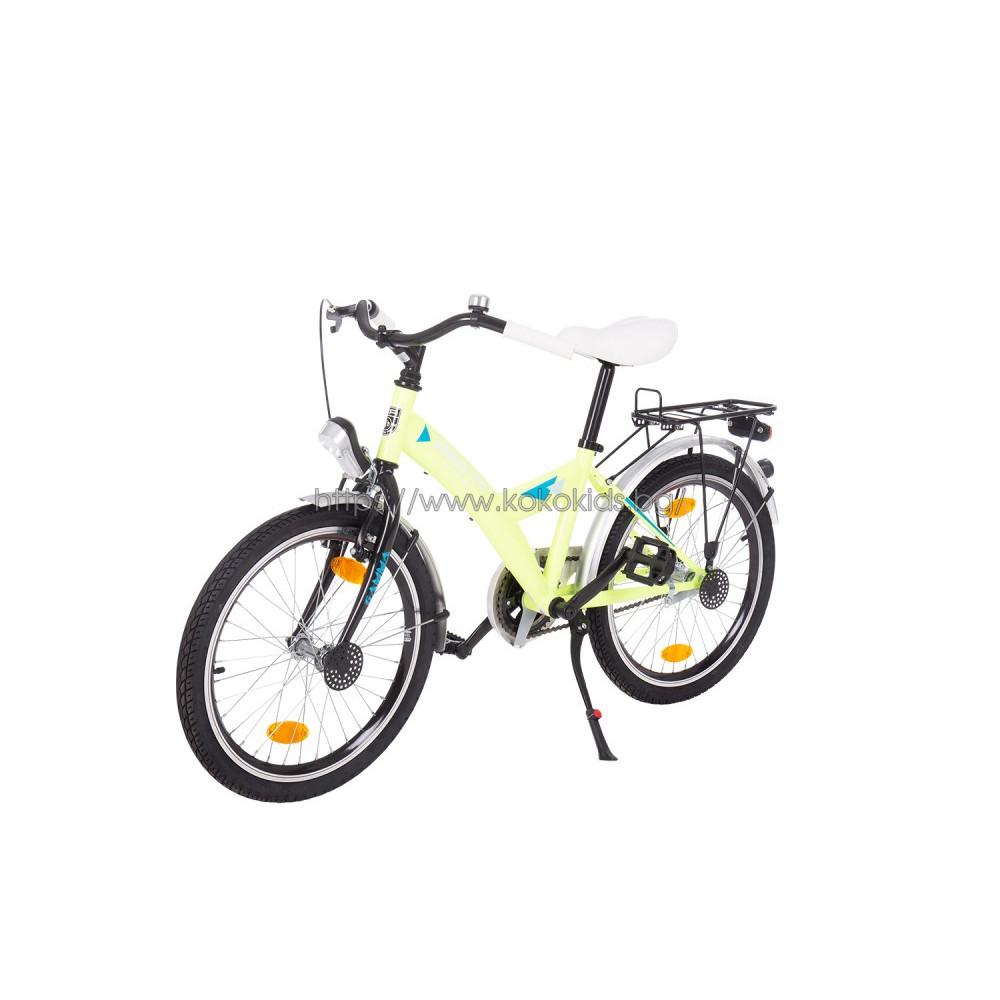 """Детски велосипед -  BANANA Neon Yellow 20"""""""