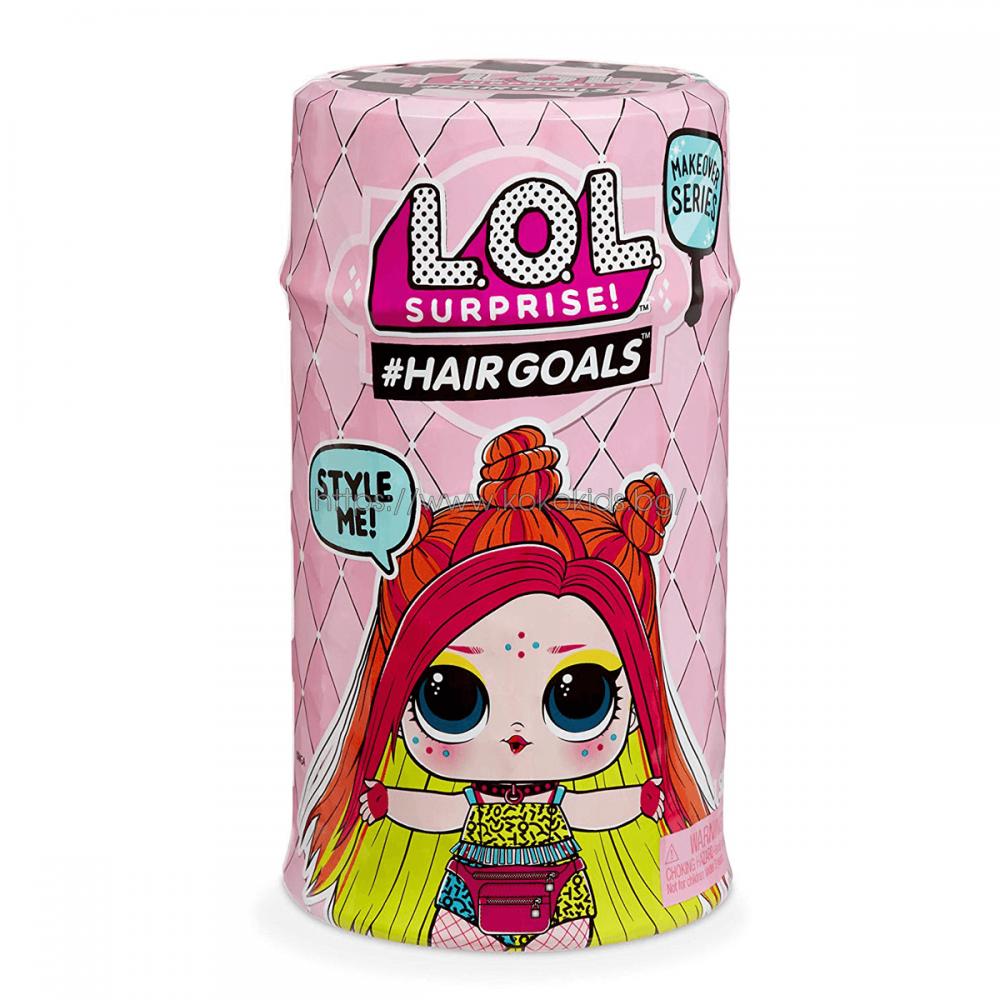 LOL Surprise Hair Goals Кукла с коса