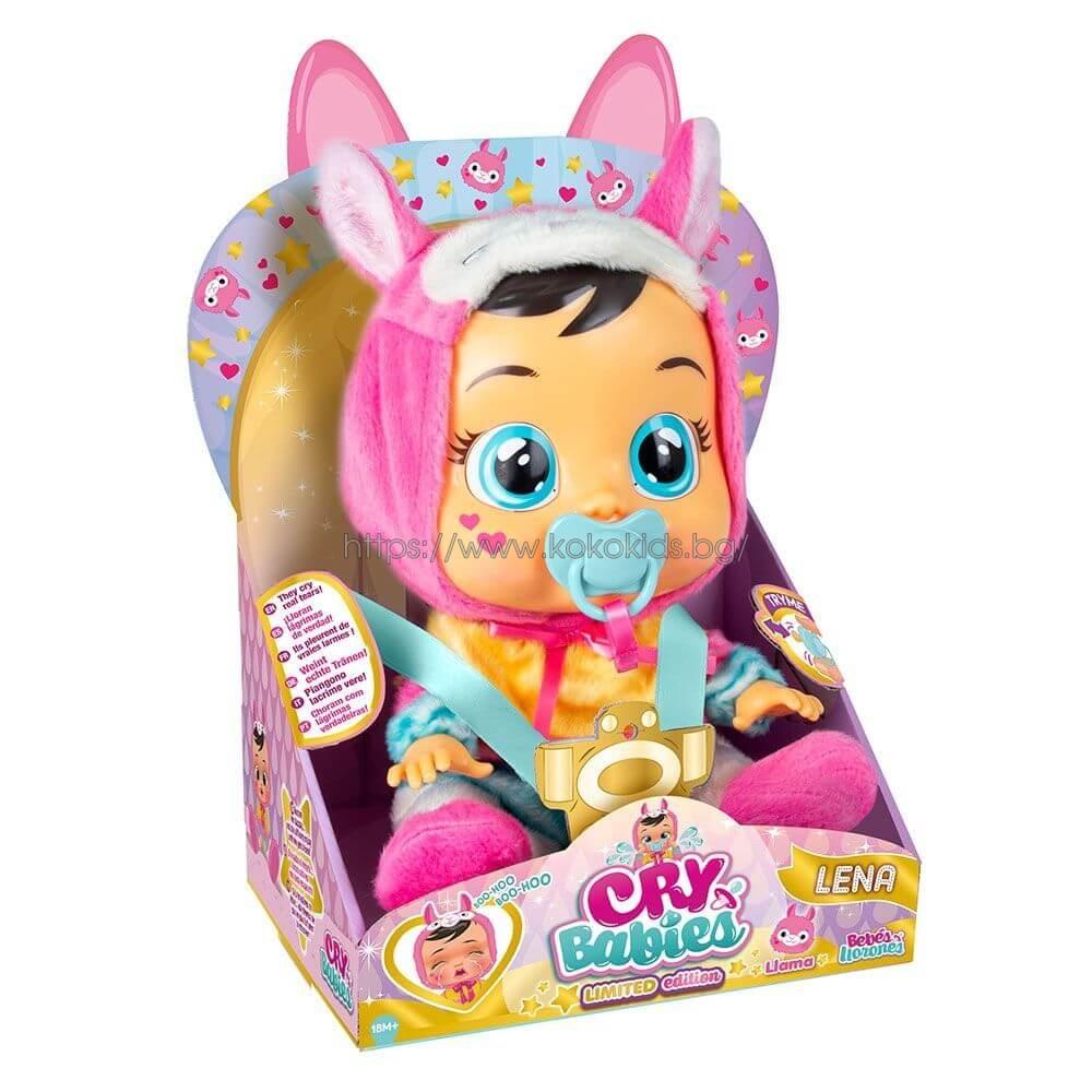 Плачеща кукла CRY BABIES LENA