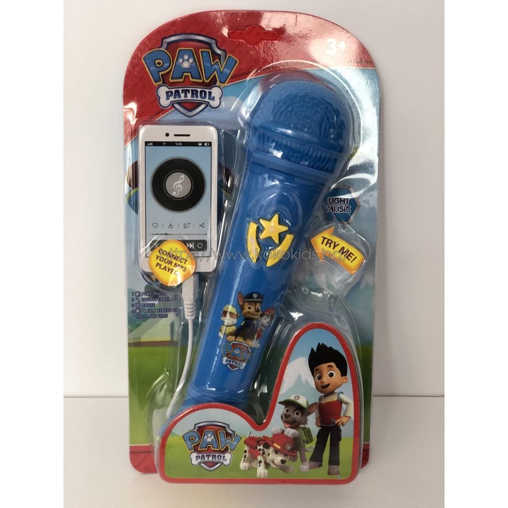 Paw Patrol - Детски микрофон Пес Патрул
