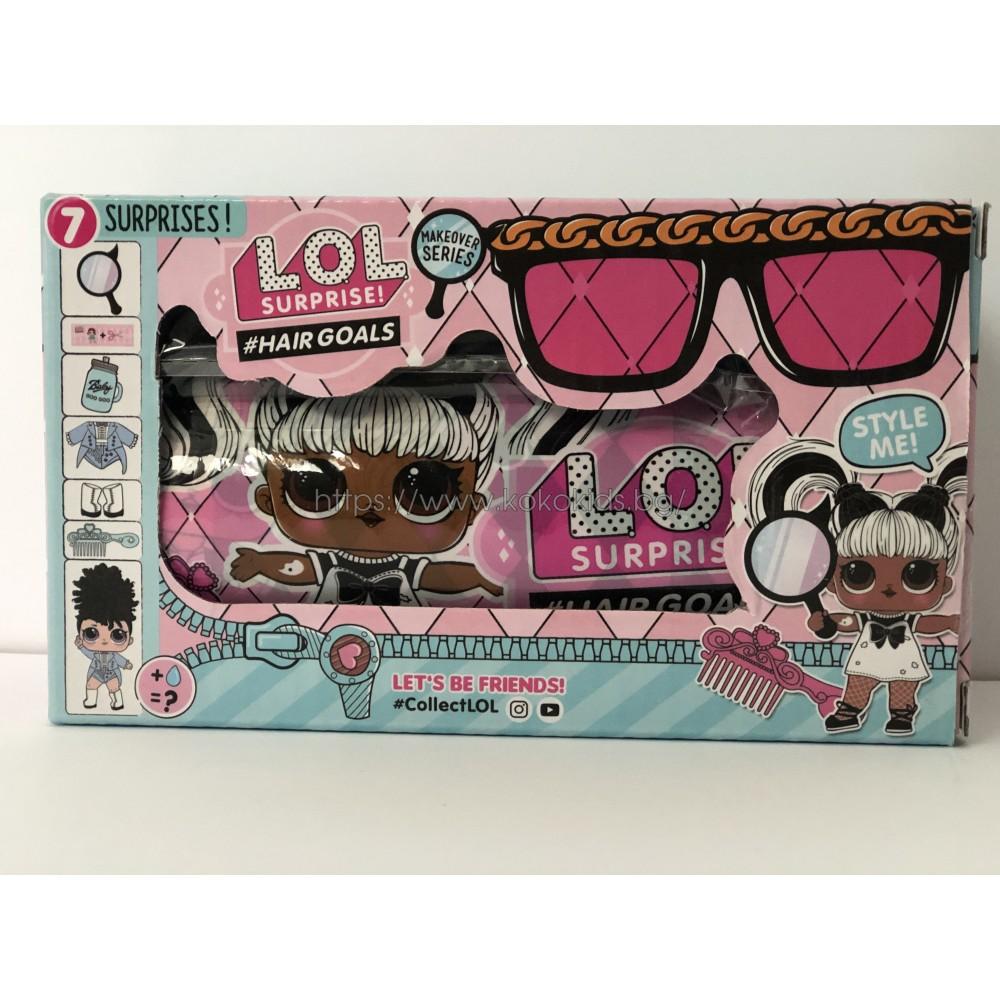 LOL Surprise Hair Goal кукла изненада и подарък Шпионски Очила