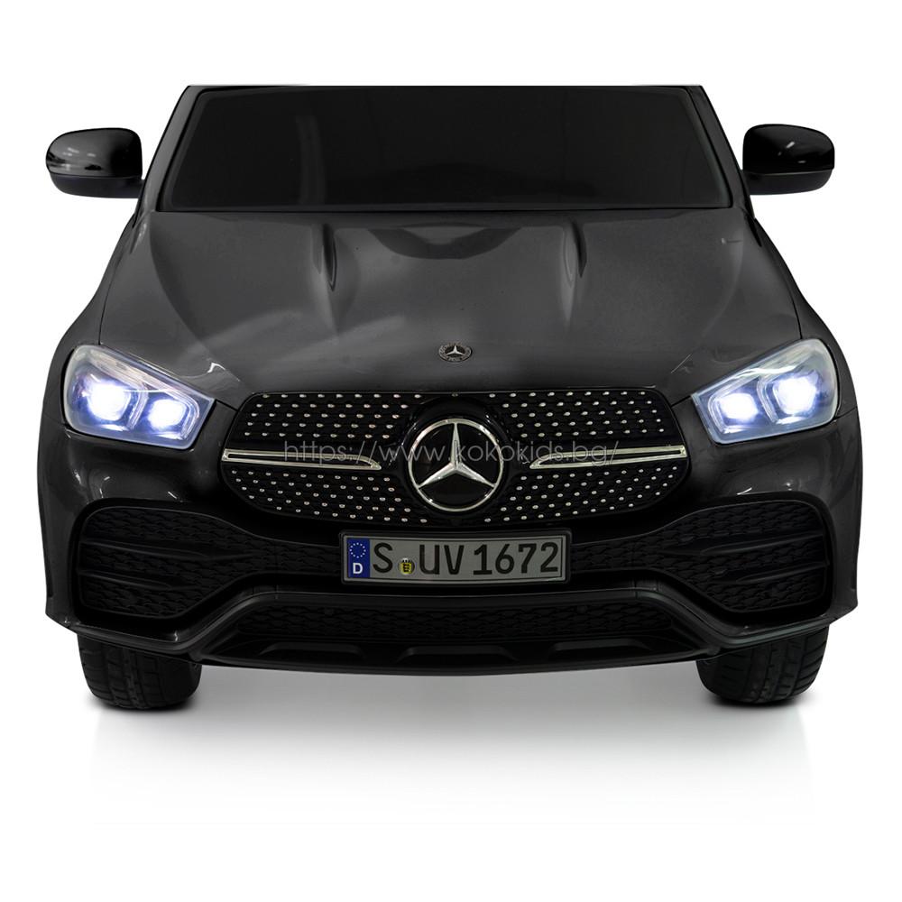 Акумулаторен джип Mercedes GLE450 - мет. черен