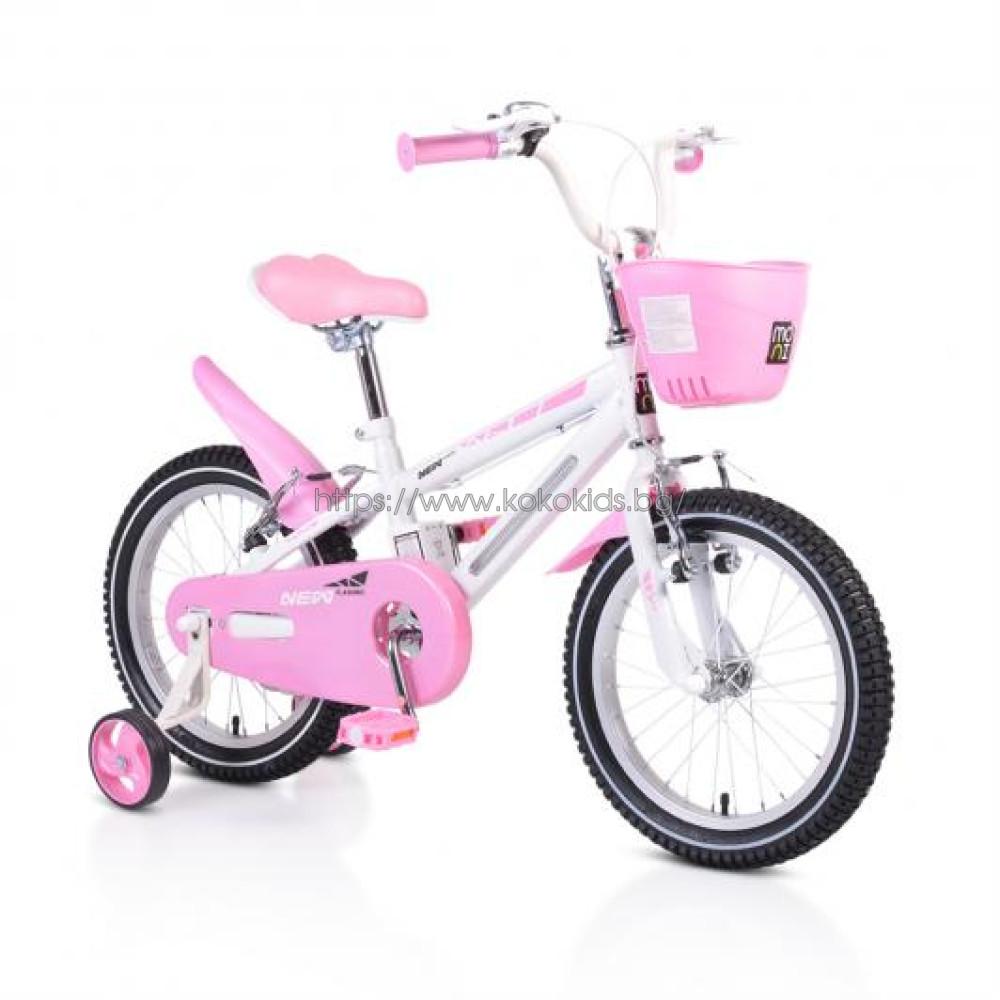 "Детски велосипед 16"" Light розов"