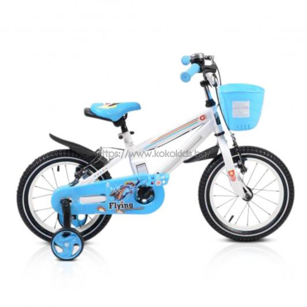 "Детски велосипед 14"" Light  син"