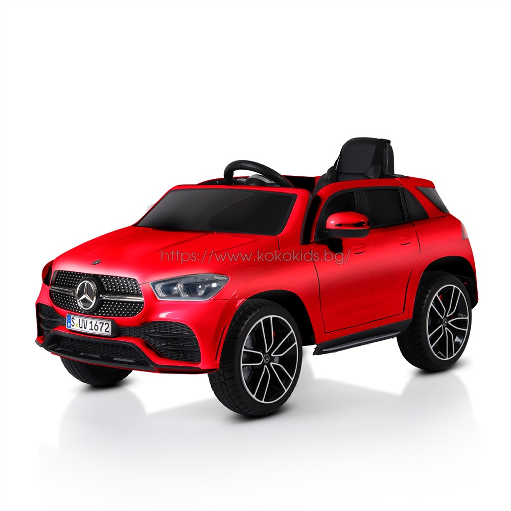 Акумулаторен джип Mercedes GLE450 - мет. червен