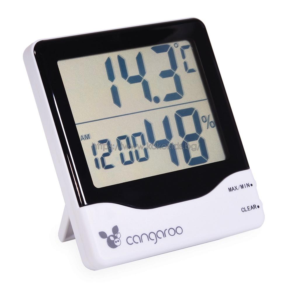 Термометър с дигитален часовник - TL8020