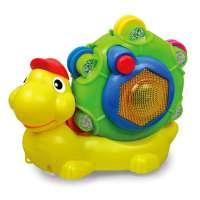 Бебешка музикална играчка Охлювче - WD3649