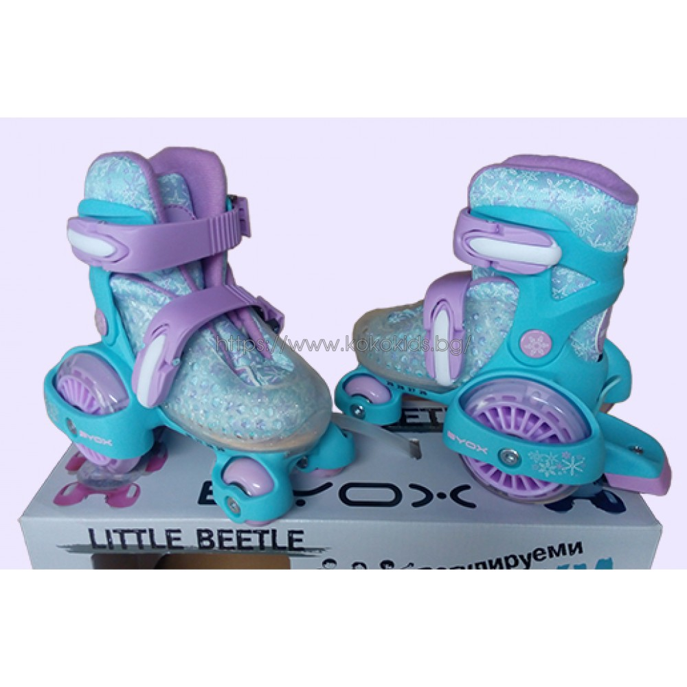 Кънки Little Beetle Frozen Girl XS (26-29)