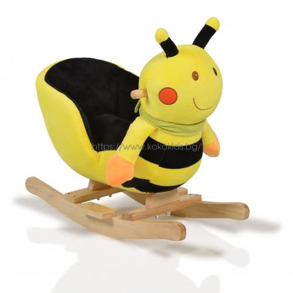 Плюшена люлка Пчеличка