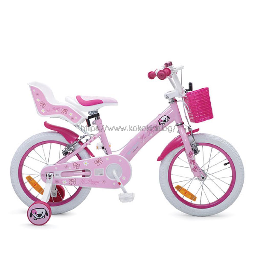 """Детски велосипед 16"""" Puppy"""