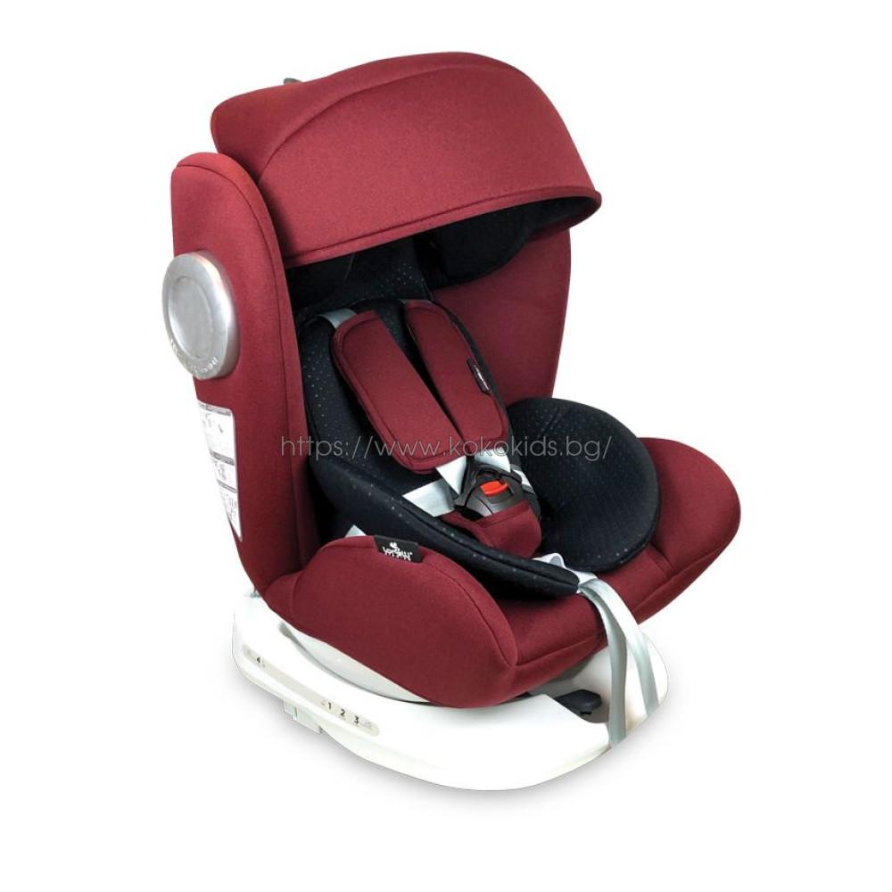 Стол за кола 0-36 кг. LUSSO SPS ISOFIX 360°