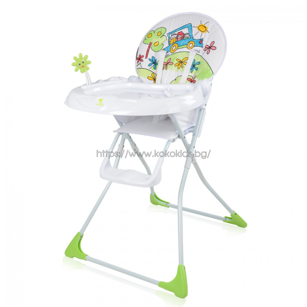 Стол за хранене JOLLY Green Car