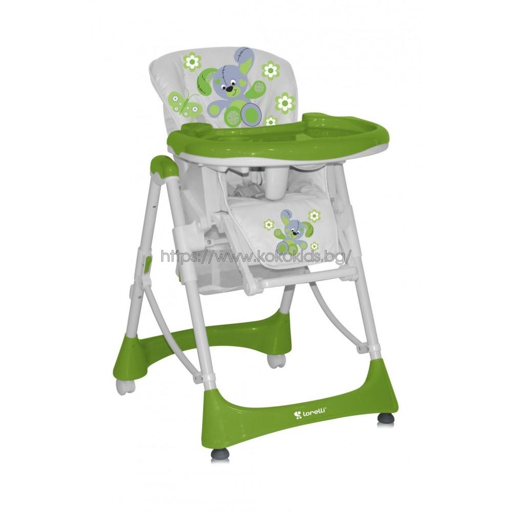 Стол за хранене LOLLIPOP Green Toy Rabbit
