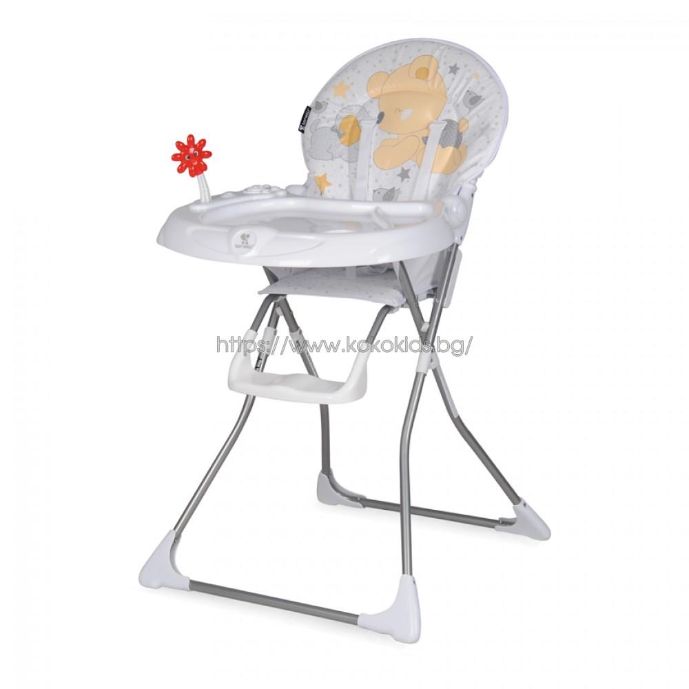 Стол за хранене JOLLY Grey ZAZA 2018