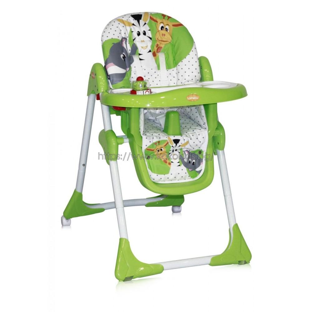Стол за хранене YAM YAM Green Safari