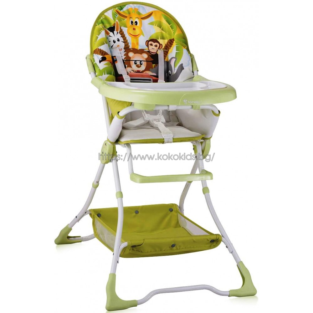 Стол за хранене BRAVO Green Jungle