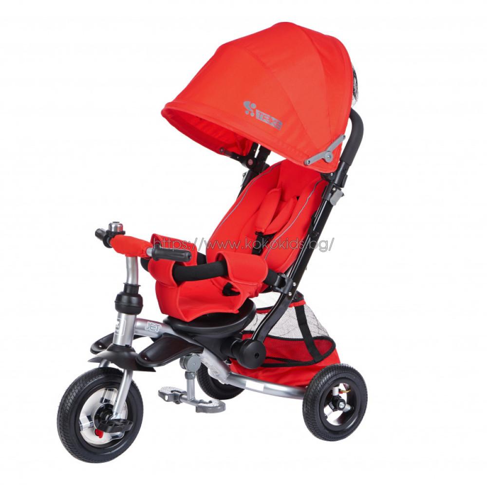 Триколка JET червена с EVA гуми
